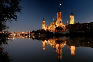 Moon over Zaragoza