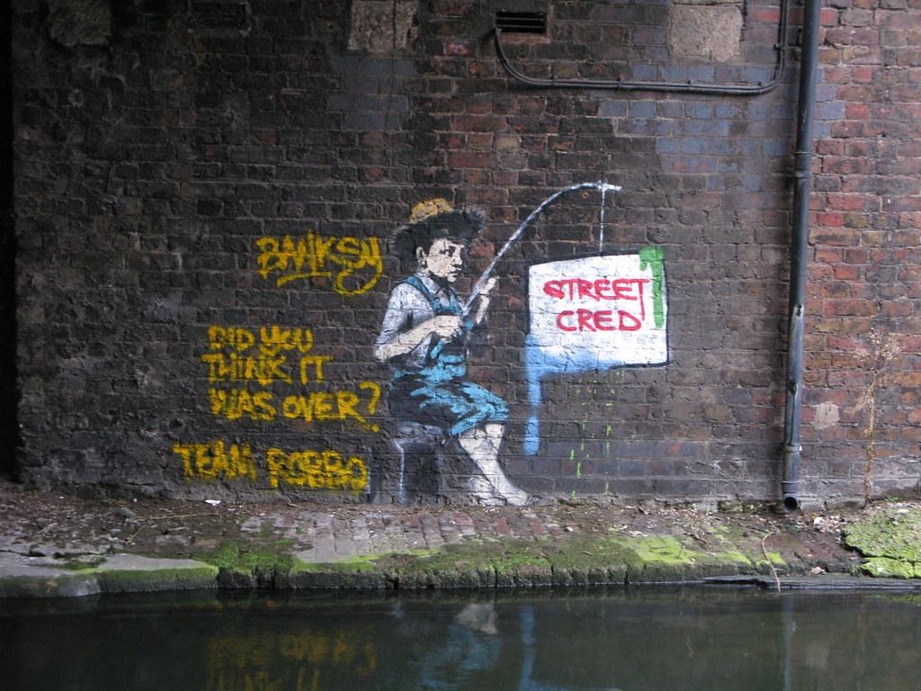 Banksy v Team Robbo - Street Cred