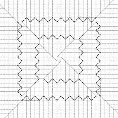 Origami Dutch Hat - Origami or paper folding