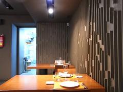 Detalle de la Sala del Restaurante Barandales
