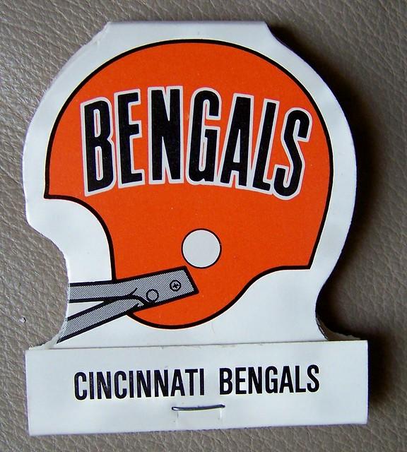 1980 CINCINNATI BENGALS NFL schedule matchbook | Flickr - Photo ...
