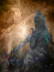 Shiva dreaming