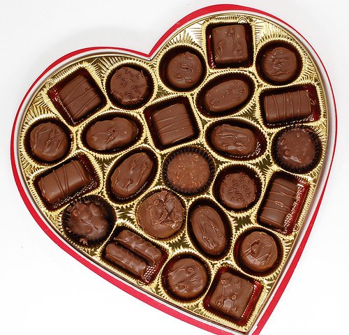 Russell Stover Assorted Chocolates in Heart Shaped Box ...