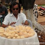 Chipa Man - Encarnacion, Paraguay