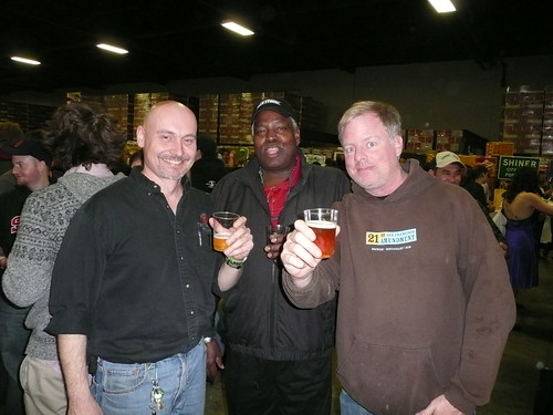 Lars Larson (Trumer), Homer Smith (Oak Barrel) & Shaun O'Sullivan (21st Amendment)