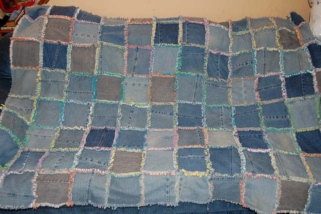 jeans quilt - a gallery on Flickr : memory rag quilts - Adamdwight.com