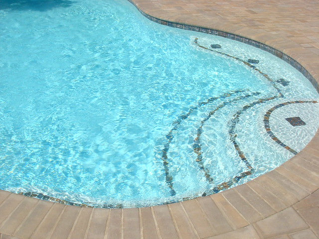 Tile Step Accents For Inground Pool Flickr Photo Sharing
