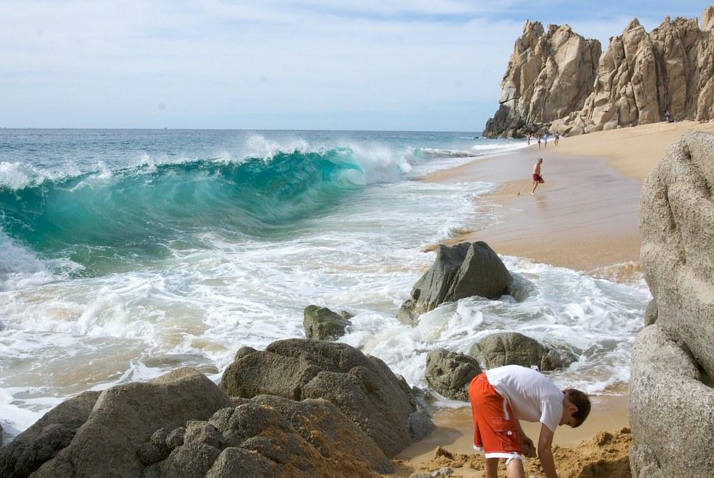 Playa del amor, Cabos San Lucas