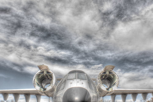 Boeing YC-14 Transport plane