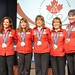 Women's Curling Canadian Silver Medalists