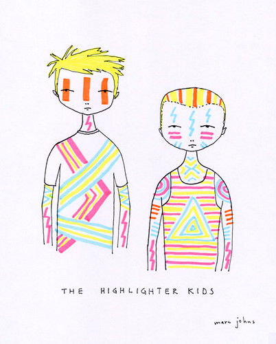 the highlighter kids
