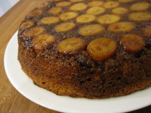 Banana & Chocolate Chip Upside-Down Cake | Flickr - Photo Sharing!