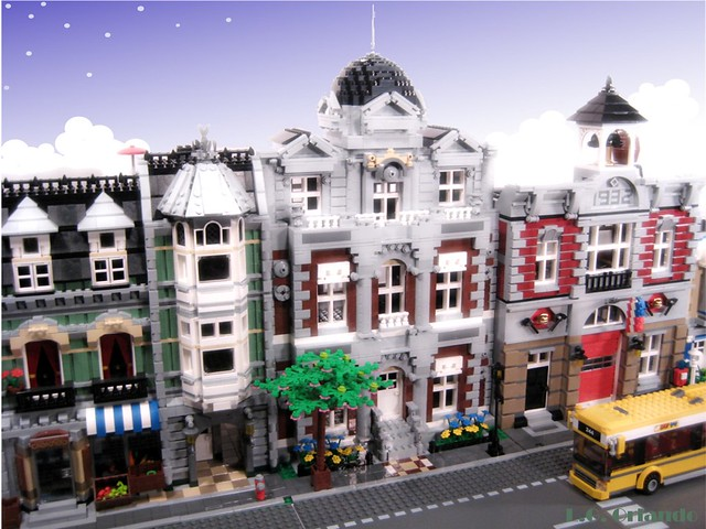 Lego City Postcard