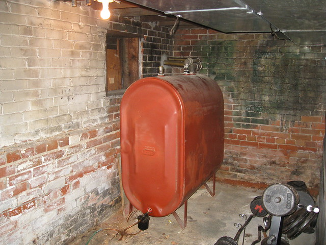 typical residential oil tank in basement flickr photo sharing