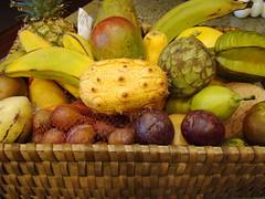 Exotic Fruit Gift Basket