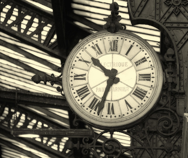 Horloge gare de lyon paris flickr photo sharing for Horloge gare