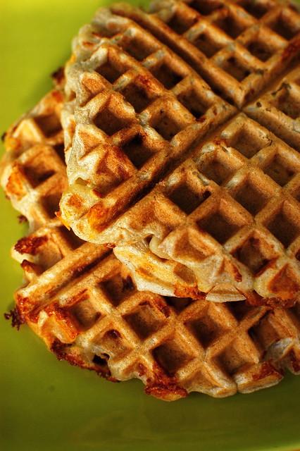 gluten-free savory waffles | Flickr - Photo Sharing!