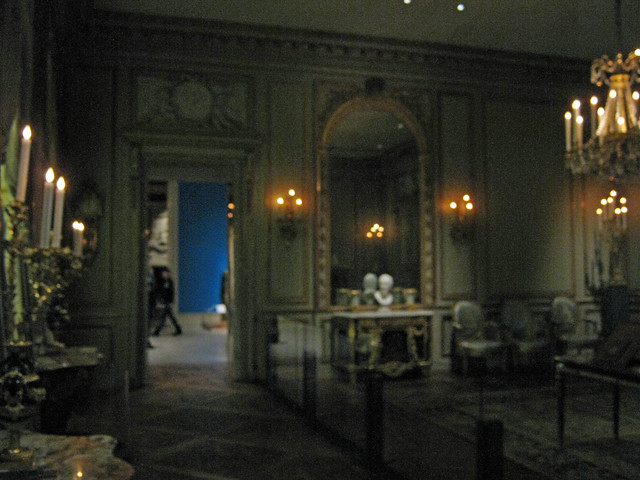 Period room formal reception room from the hotel de tess for Period hotel