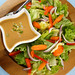 Green Salad with Peanut Dressing