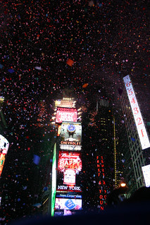 New  year @ Times Square