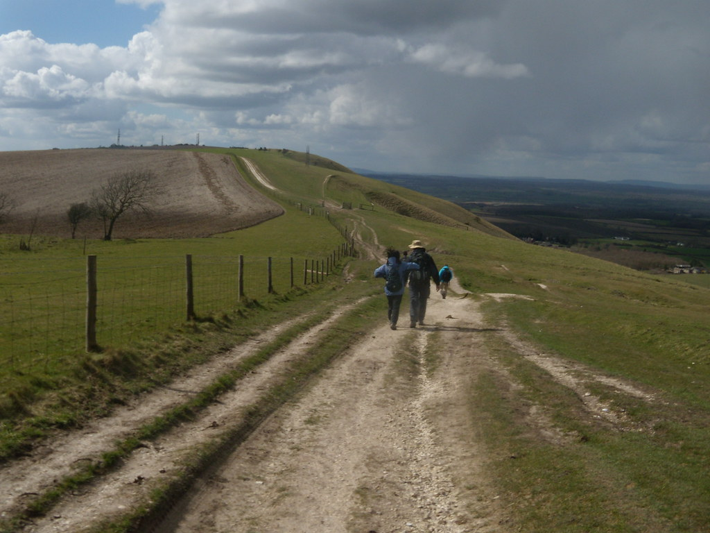 On to Truleigh Hill Hassocks to Upper Beeding