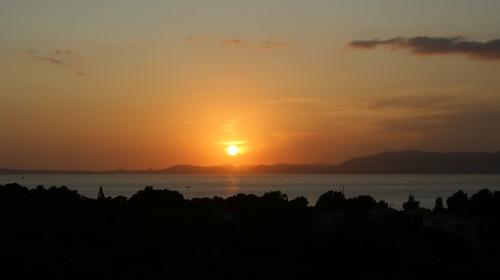 sunrise island bay sonnenuntergang insel mallorca mediterraneansea abendsonne bucht mittelmeer