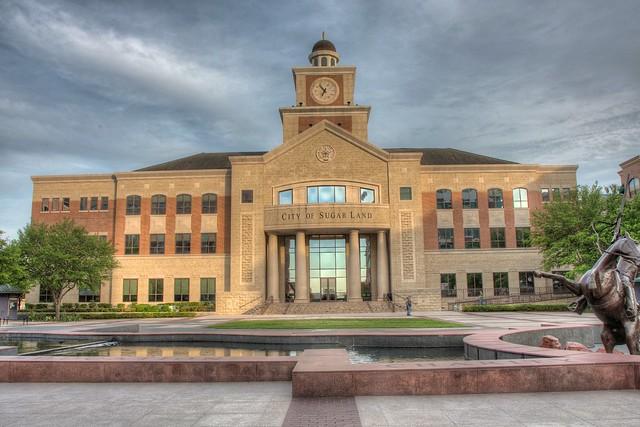 Sugar Land Town Square City Hall Flickr Photo Sharing