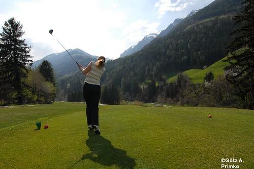 Suedtirol Fruehling 3 Golf Passeier Tal Meran 108