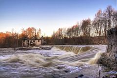 Spring flow at Vantaankoski