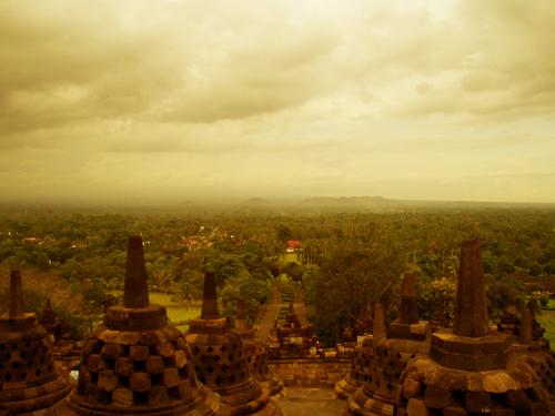 Borobudur 5 years ago..