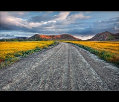 Dirt Road and Hills