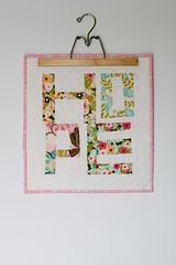 Hope Mini Quilt