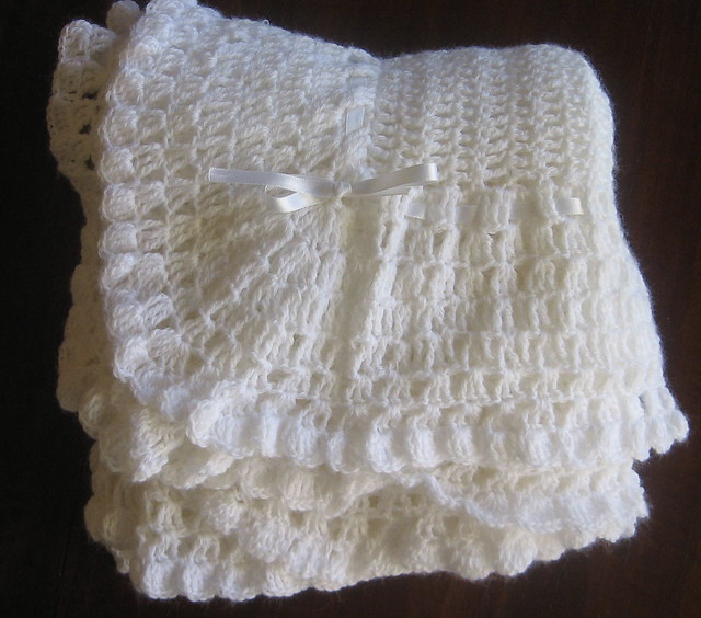 Free Antique Crochet Shawl Patterns : Baby Shawl from vintage pattern Flickr - Photo Sharing!