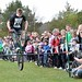 ClanStuntShow posted a photo:	Eventual winner of the public bunny hop comp at 95cm. Lochore, April 2010. Photgraph copyright Dunfermline Press