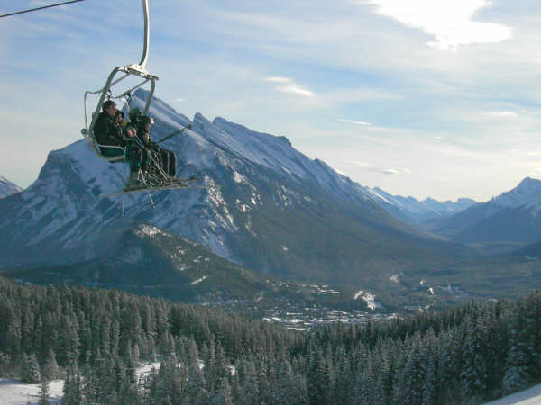 Mt Norquay Photo by Fiona Quiggin