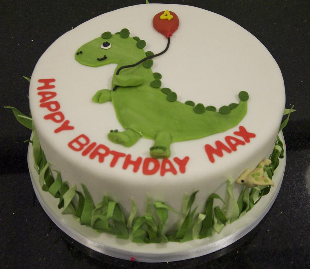Best Dinosaur Cake