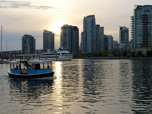 Vancouver Waterfront Skyline at Dusk
