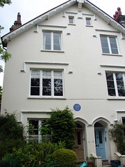 Photo of Rabindranath Tagore blue plaque