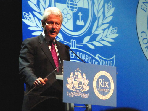 Former U.S. President Bill Clinton spoke at Vancouver Board of Trade and Q&A with Carole Taylor by RayVanEng