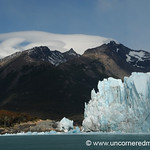 Sun Shines on Perito Moreno Glacier - El Calafate, Argentina