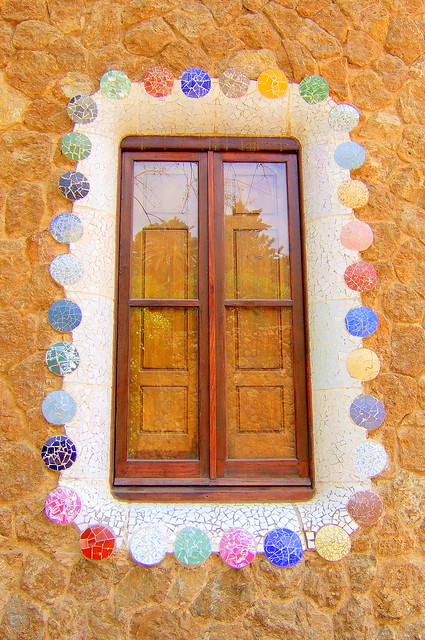 Gaudi House Window/Door - Barcelona