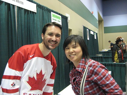 Wil Wheaton and moi