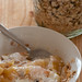 stewed apples & muesli