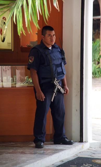 Header of armed guard