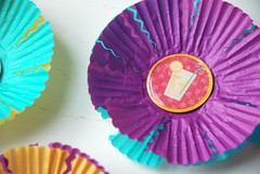 cupcake liner summer-time scrapbooking embellishments 2