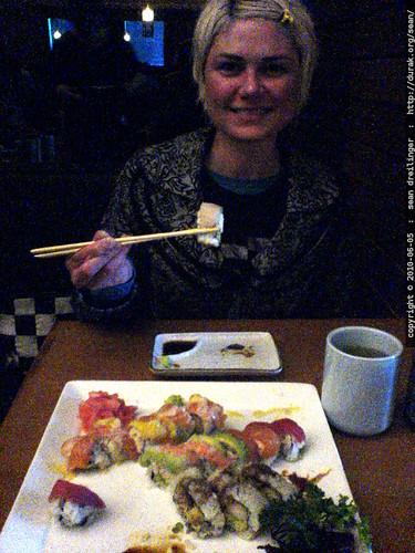 rachel's 34th birthday dinner   DSC03493