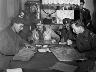 Tactical Headquarters of Les Fusiliers Mont-Royal. / Le quartier général tactique des Fusiliers Mont-Royal