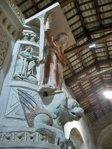 MOSCUFO SANTA MARIA AD LACUM ciborio (PE)