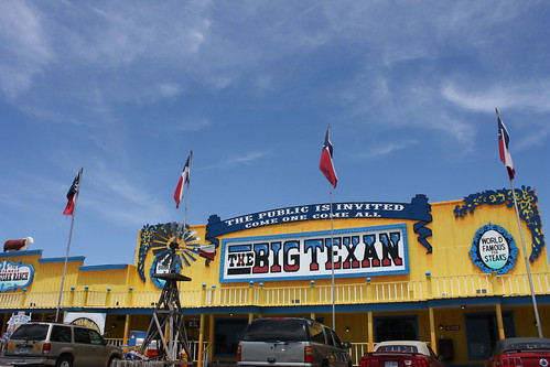 Front façade of The Big Texan