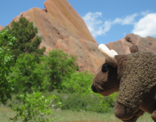 Beautiful scenery in Roxborough State Park in Littleton, Colorado